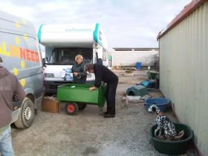camper en vrijwilligers