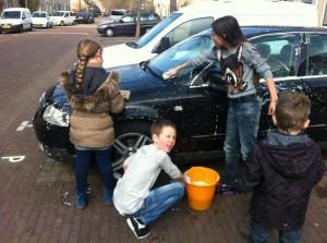 auto's wassen 2