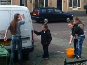 autos wassen